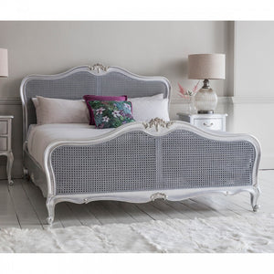 The Emily - Chic Silver Framed Bed