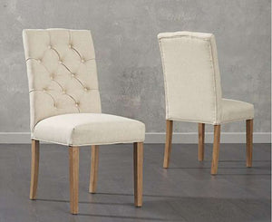 The Gemma - Shabby Chic Bench & Fabric Chair Set