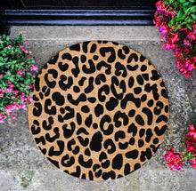 Load image into Gallery viewer, The Lucinda Large - Leopard Door Mat