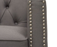 Load image into Gallery viewer, The Kate - Grey Fabric Armchair
