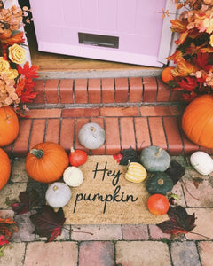 The Lucinda - Hey Pumpkin Doormat