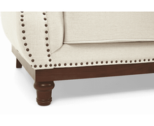 Load image into Gallery viewer, The Beatrix - Linen Three Seater Sofa