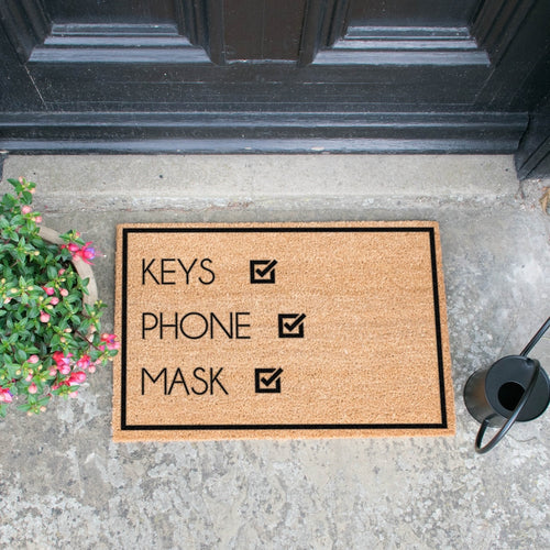 The Freya - Keys, Phone, Mask Doormat