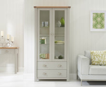 Load image into Gallery viewer, The Talia - Grey & Oak Display Unit