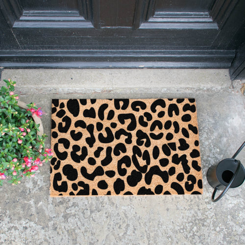 The Lucinda - Leopard Doormat