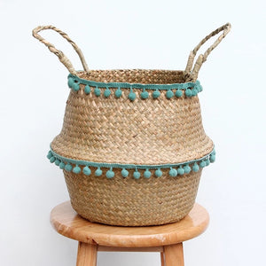 The Thea - Storage Basket Green