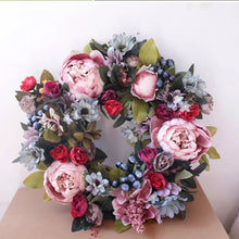 Load image into Gallery viewer, The Stella -  Spring Berry Peony Wreath