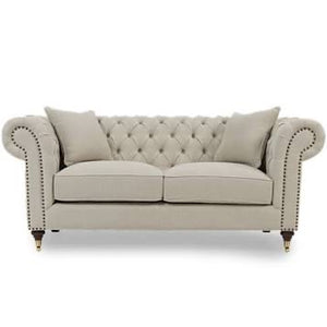 The Charlotte - Two Seater Chesterfield Sofa