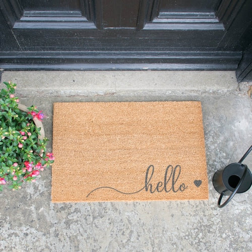 The Lucinda - Hello Doormat