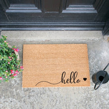 Load image into Gallery viewer, The Lucinda - Hello Doormat