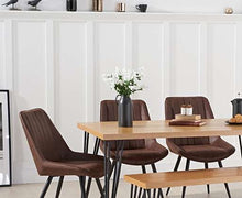Load image into Gallery viewer, The Rowena - 160cm Dining Set