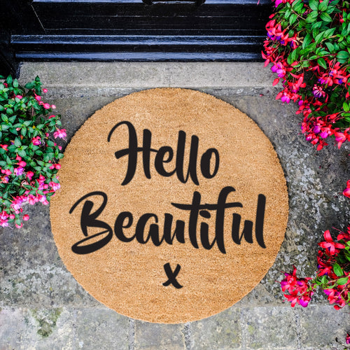 Hello Beautiful - Doormat