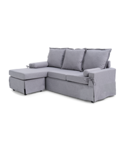 Load image into Gallery viewer, The Kylie - Grey Linen Corner Seater Sofa