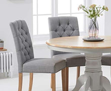 Load image into Gallery viewer, The Maisie - Oak & Grey Dining Set