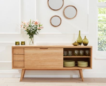 The Kelly - Oak Sideboard