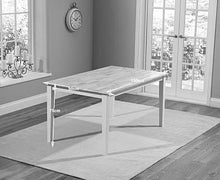 Load image into Gallery viewer, The Tessa - 150cm Oak & White Dining Set