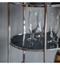 Load image into Gallery viewer, The Imogen - Silver Drinks Trolley