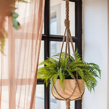 Load image into Gallery viewer, The Cora - Boho Rope Plant Hanger