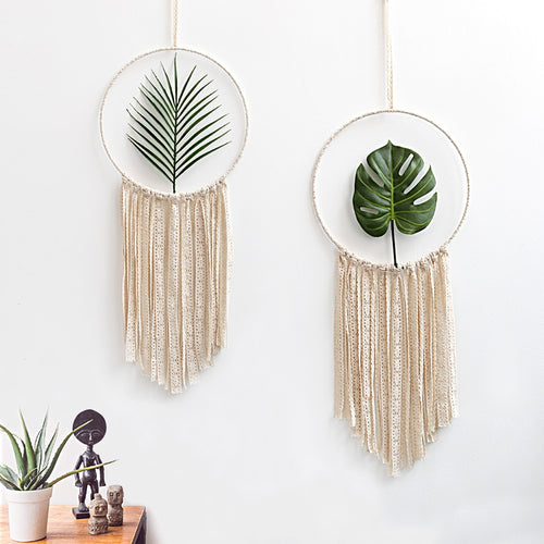 The Suzanne -  Macrame Cotton Tapestry Wall Art