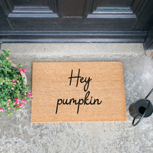Load image into Gallery viewer, The Lucinda - Hey Pumpkin Doormat