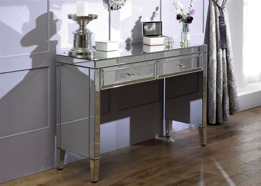 The Samantha - Mirror Dressing Console Table
