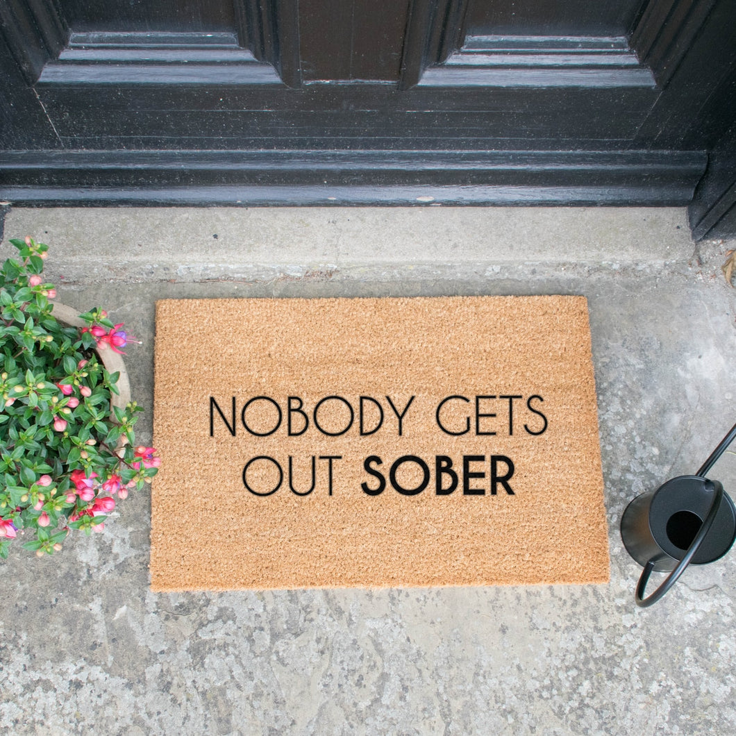 The Lucinda - Sober Doormat