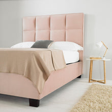Load image into Gallery viewer, The Taryn - Blush Pink Ottoman Bed
