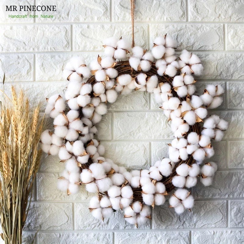 The Eve - Cotton Door Wreath