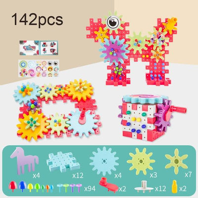 Kids 3D Gears Block