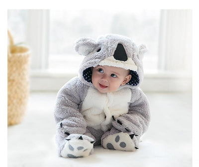 Soft Wool - Koala Romper