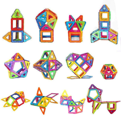 50PCS Mini Magnetic Building Blocks