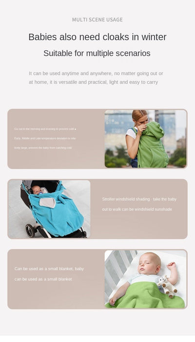 Multifunctional Baby  Windproof Stroller Cover