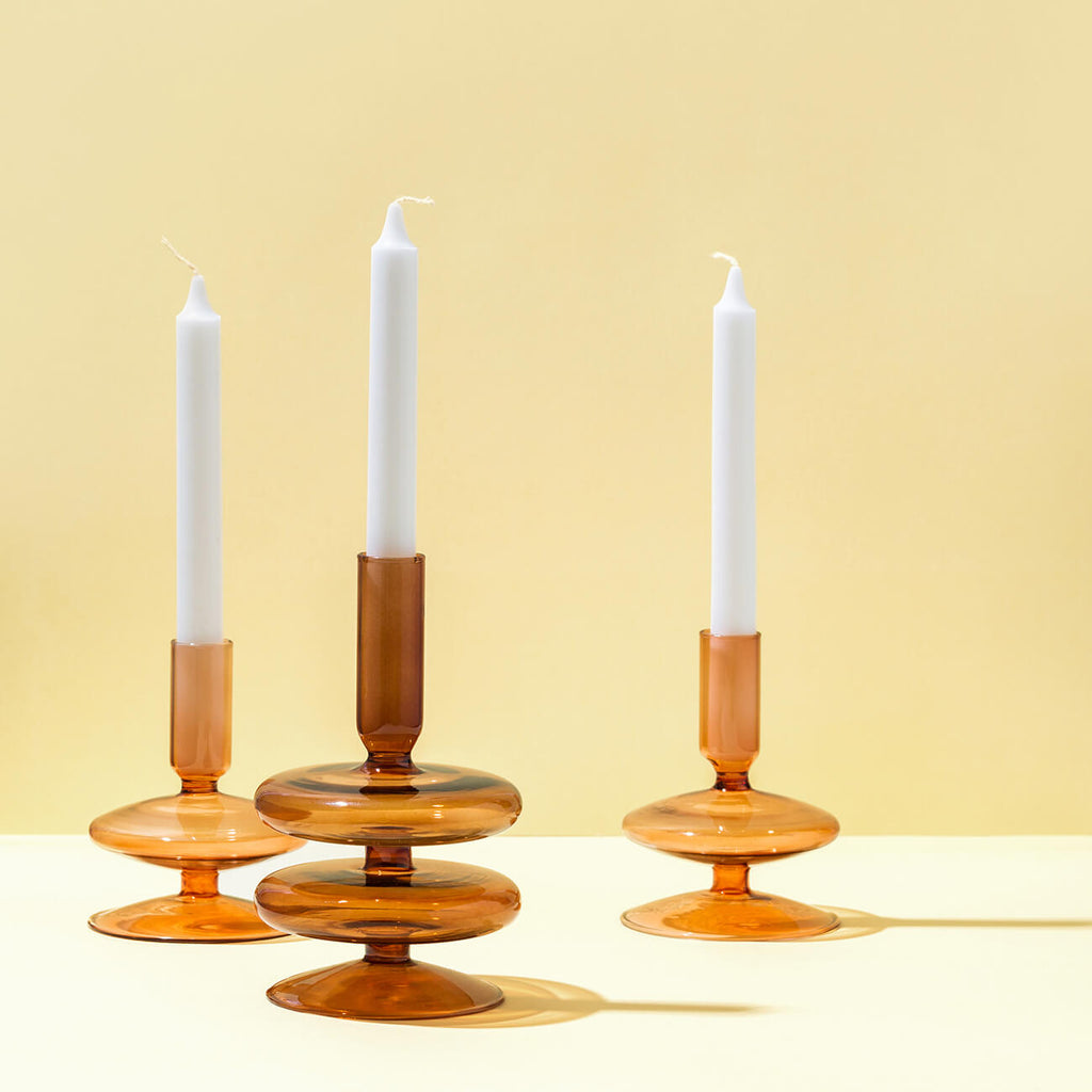 Cherry Cola Tapered Candle Holder - 1 & 2 tiers - Table Decor & Styling items Perth WA - Side Serve Shop