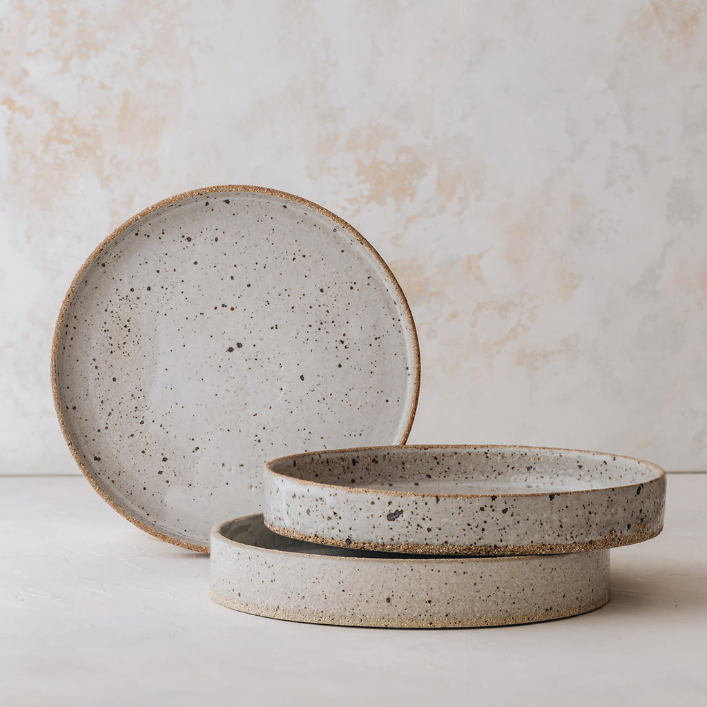 Deep Plate by Kiln Ceramics - Artisan Tableware & Serveware made in Perth WA - stocked at Side Serve Shop, Osborne Park