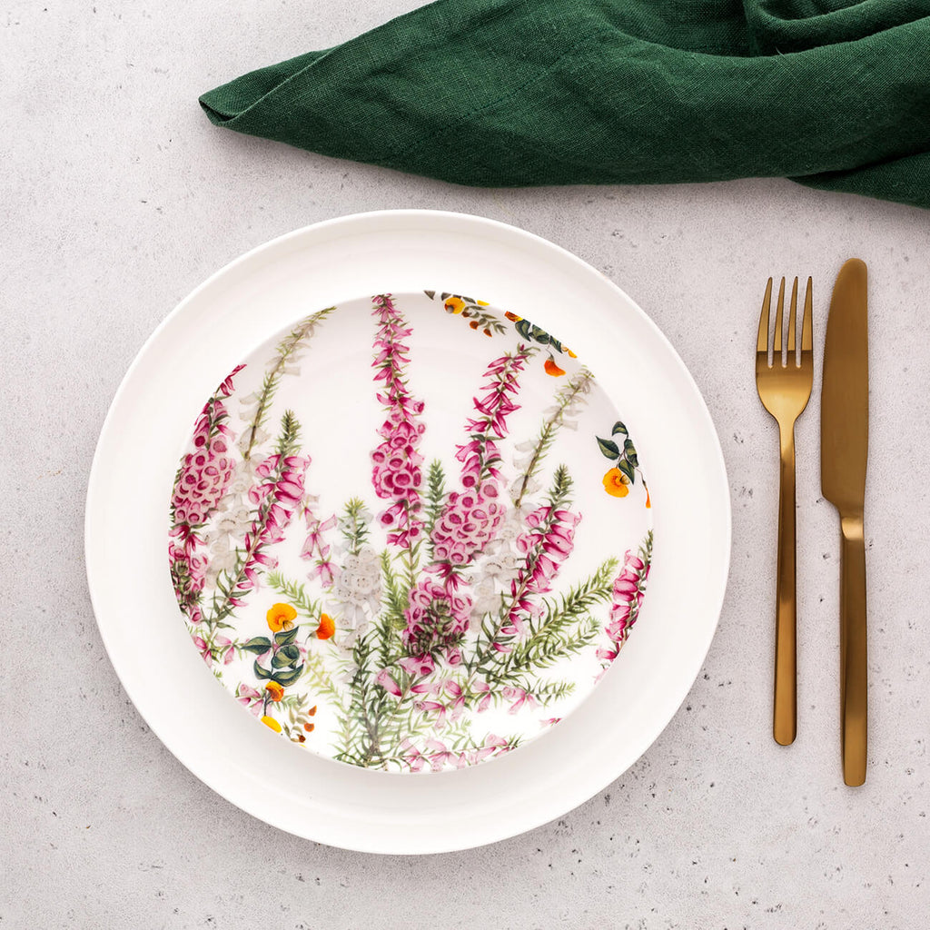 The Euphemia Henderson Plate - Pink Heath 20cm by Maxwell Williams - Statement Tableware - Perth WA