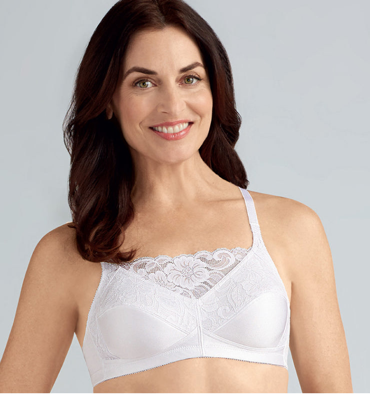 Isabel Camisole Bra in White
