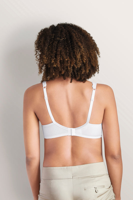 Back of Dana Camisole in White