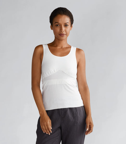 Michelle Post Surgical Camisole in white