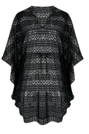 Selena Tunic Cover-up in Black