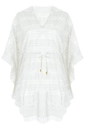 Selena Tunic Cover-up in White