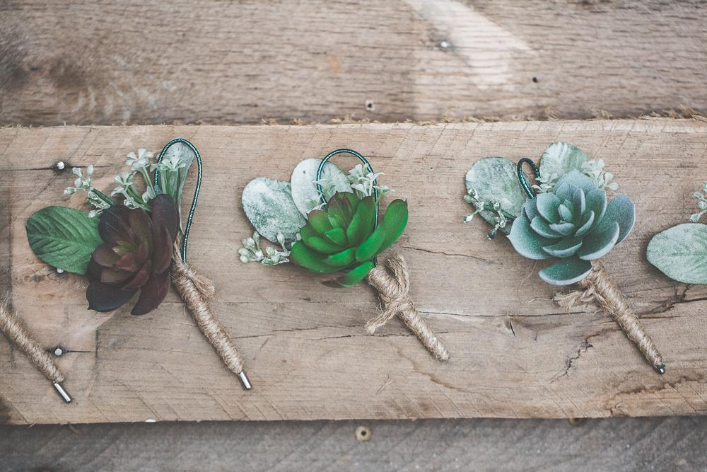 How To Incorporate Succulents Into Your Wedding