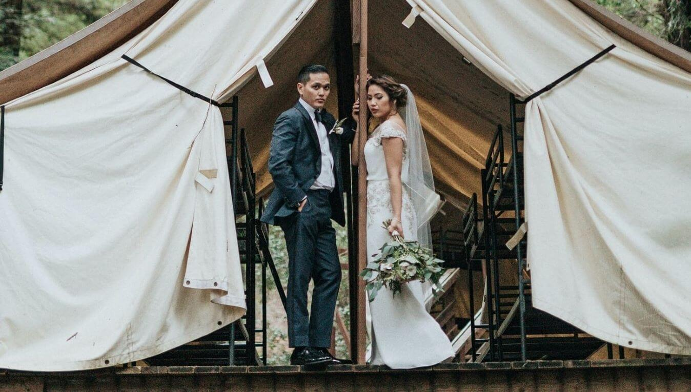 How to Plan Your Own Camping Wedding and Reception