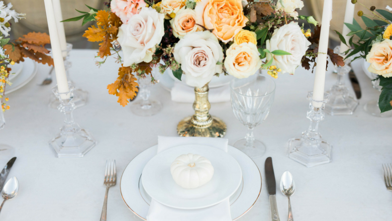 The Many Faces of a Minimalist Wedding: 5 Wedding Decoration Ideas