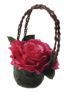 DIY: Making a Grand Rose Satchel Basket