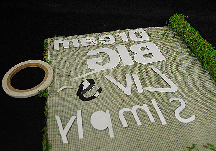How to Make Moss Tree Slice Signs