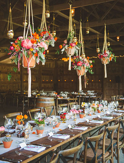 Top 5 Hanging Centerpiece Ideas for Weddings