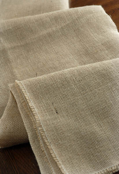 Square Burlap Tablecloth 64 Inch