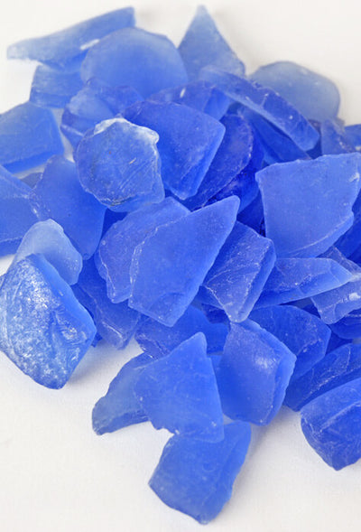 Beach Glass Frosted Sky Blue 3lbs