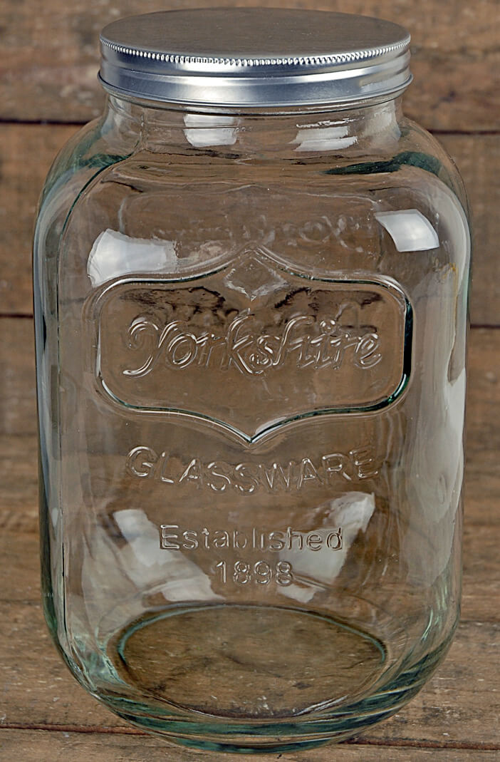 One Gallon Yorkshire Glassware Jar