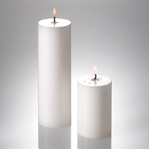 "Richland Pillar Candles 2"" x 3"" & 2"" x 6"" Set of 40"